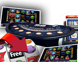table de blackjack et machines à sous Jackpot Forune